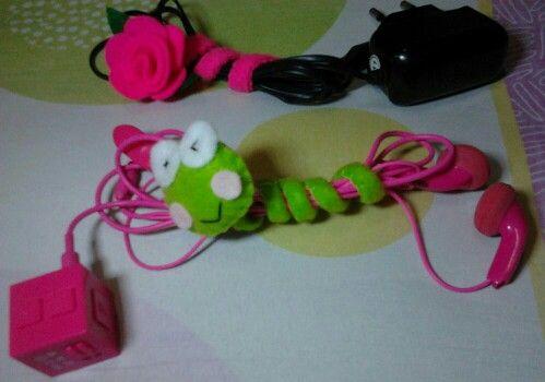 Felt accessories - lilitan kabel