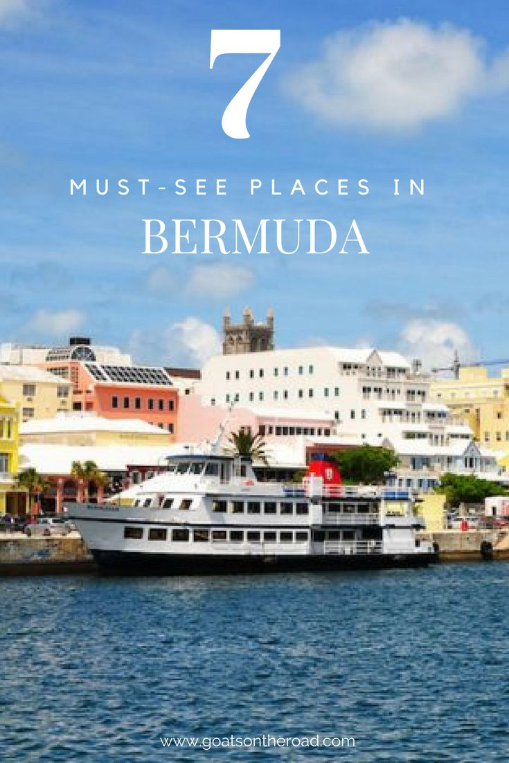 7 Must-See Places in Bermuda | Best of Caribbean Travel | Bermuda Travel Advice | What To See in Bermuda | Best Things To Do In Bermuda | Backpacking Bermuda