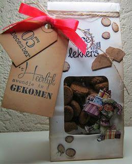 6410/0083 Clear Stamps Sinterklaas Door Hetty's Knutselhokkie