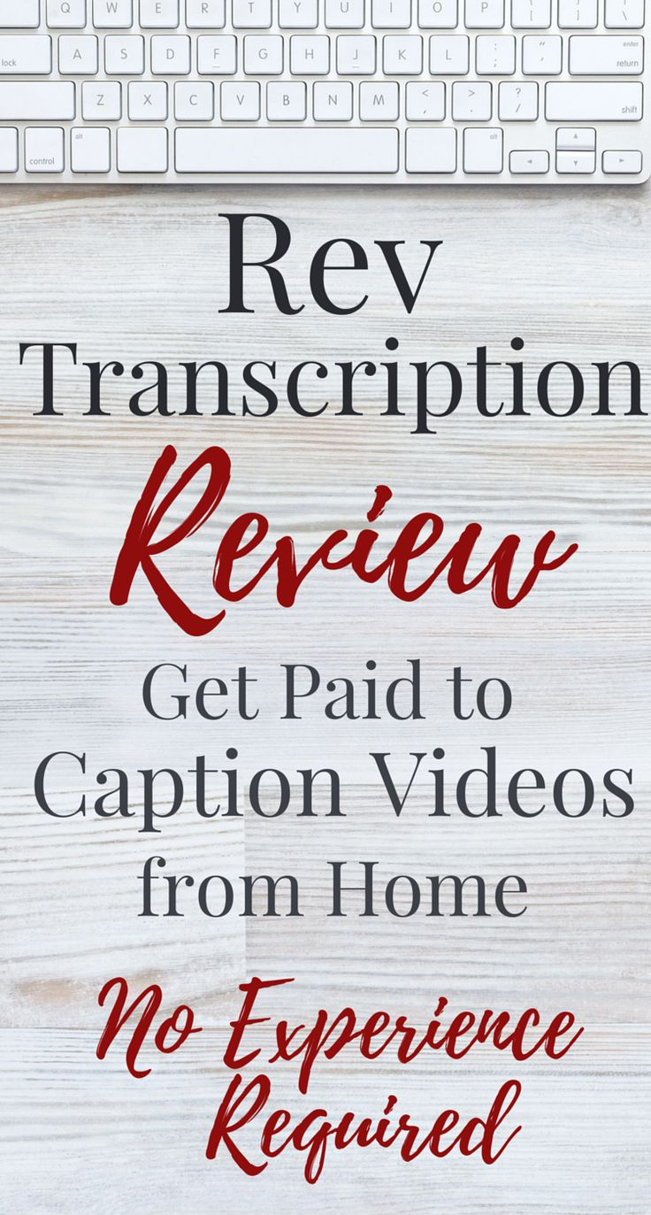You can earn as much as $1,500/month captioning videos from home. Check out this Rev transcription review to find out how you can become a paid captioner -- no experience required!