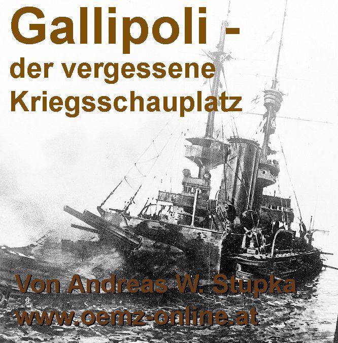 Über die Schlacht um die Dardanellen 1915 bis 1916