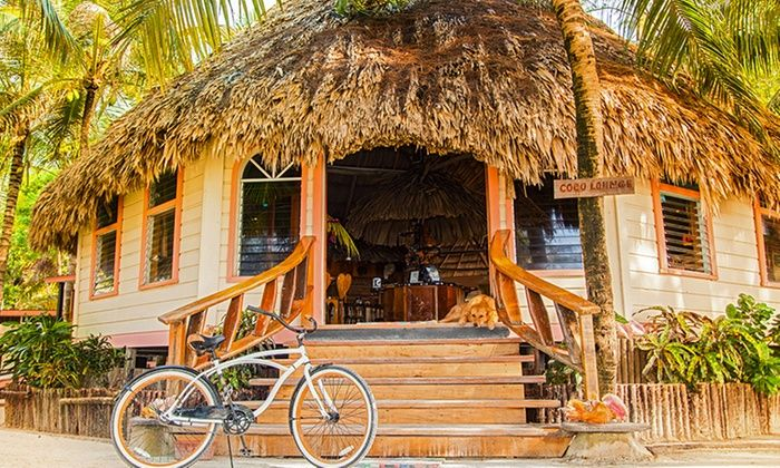 Thatch Caye Resort - Dangriga, Belize:  3- or 5-Night Stay for Two with Optional Boat Transfer and Activities at Thatch Caye Resort in Belize.