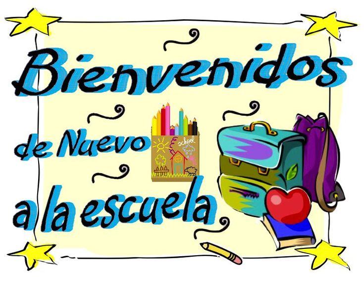 Bienvenidos de Nuevo a la escuela (Welcome Back to school)- Back to School Sign in Spanish- backpack design
