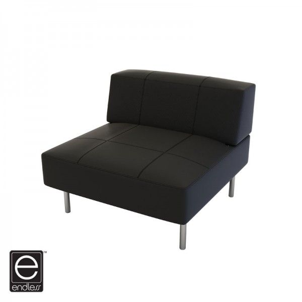 endless square low back chair