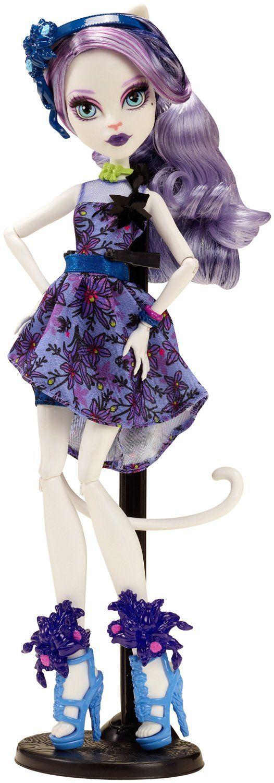 Amazon.com: Monster High Gloom 'n Bloom Catrine DeMew Doll: Toys & Games