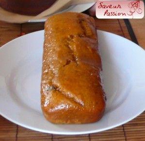 Pain d'épices à l'orange, potimarron et éclats de chocolat