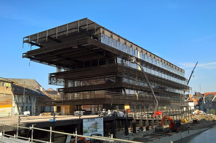 Lammhults Biblioteksdesign has been chosen to supply furniture for the new library in Gent