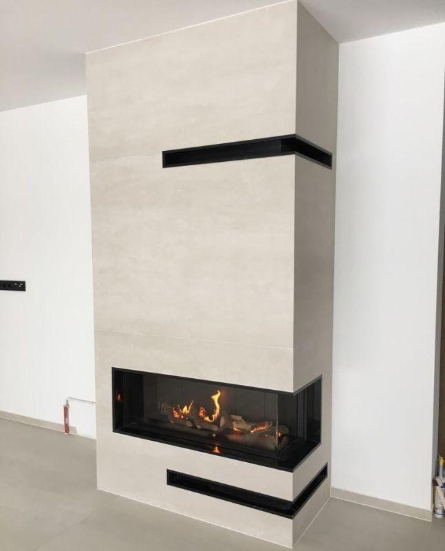 Kominek Nowoczesny Model N135 Kominki Gp Modern Fireplace Fireplace Home Decor