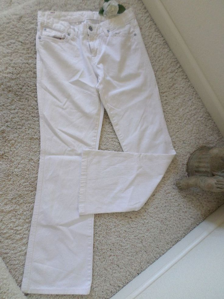 ❤Seven For All Mankind Women Flare 30~7 For All Mankind WHITE BootCut 30~90% NEW #7ForAllMankind #Flare