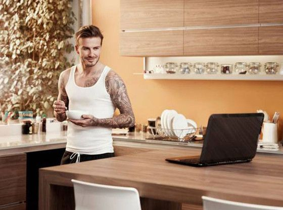 David Beckham's new commercial is a dream come true! (Click to watch.)