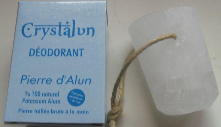déodorant naturel en pierre d'alun de aromesetsens sur DaWanda.com