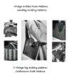 Vintage Purse Patterns to Knit - Handbag Knitting Patterns - 5 Vintage Bag Knitting Patterns