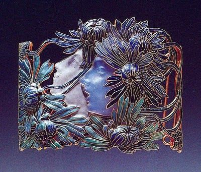 Art Nouveau Artists- Lalique Jewelry, Necklace