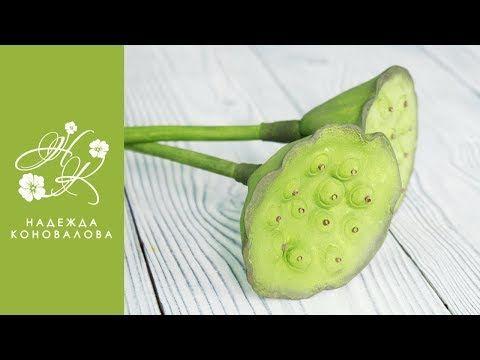 Коробочка лотоса из фоамирана - YouTube