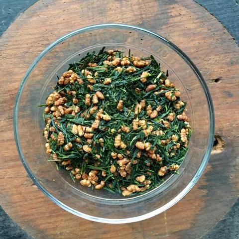 Japanese green tea genmaicha