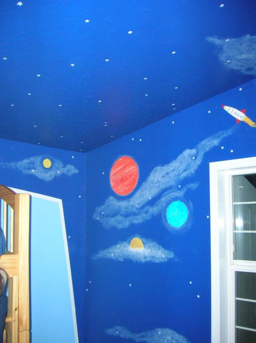 29 best images about owens bedroom on pinterest glow for Outer space room design