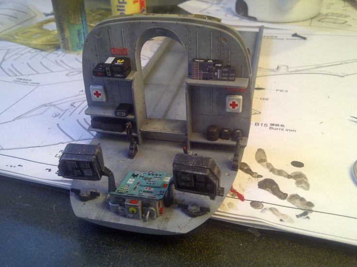 diorama hélicoptère MIL MI 8
