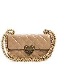 Matelasse Heart Bag - Moschino Cheap & Chic - Beige - Väskor - High end - NELLY.COM