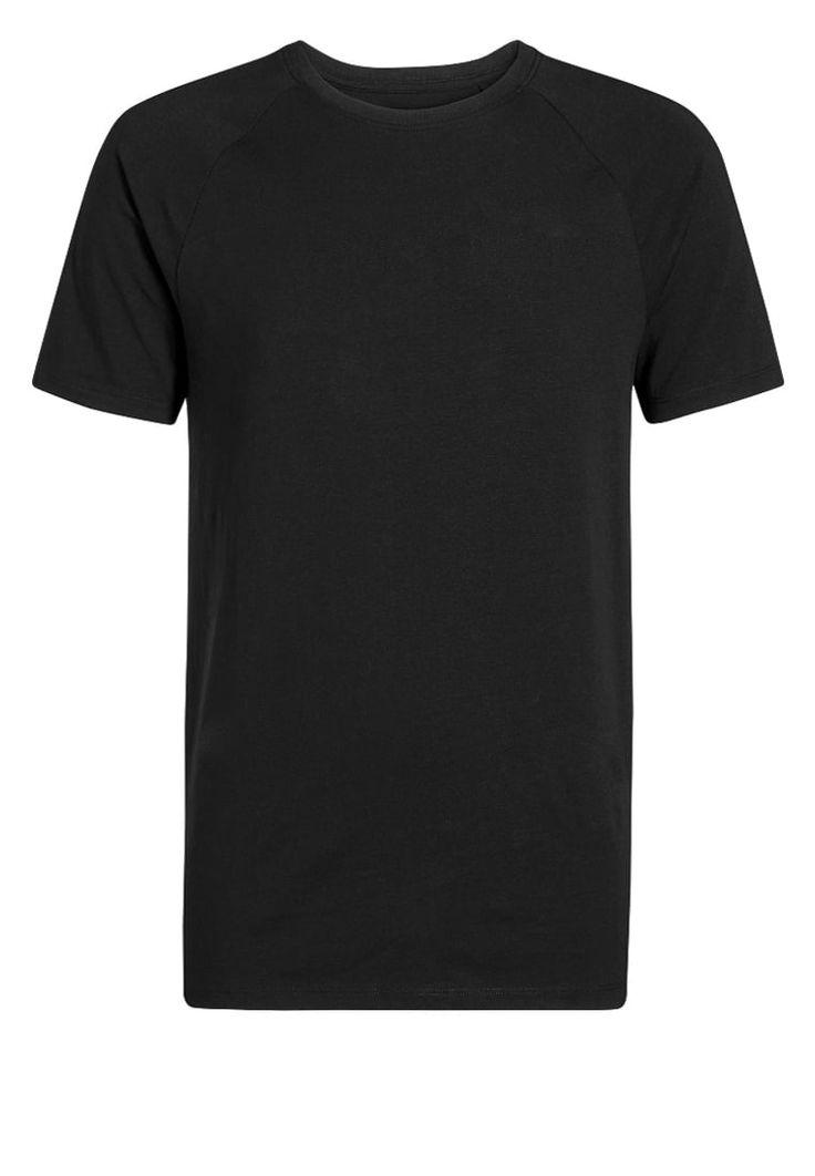 Next TShirt basic black Bekleidung bei Zalando.de | Material Oberstoff: 95% Baumwolle, 5% Elasthan | Bekleidung jetzt versandkostenfrei bei Zalando.de bestellen!