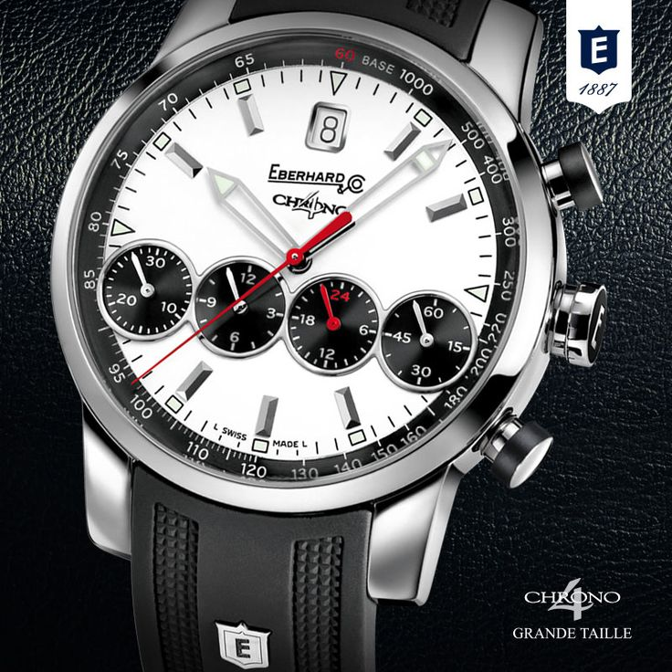 Chrono 4  Grande Taille by Eberhard & Co. http://www.eberhard-co-watches.ch/en/collections?cat=grande-taille-chrono-4