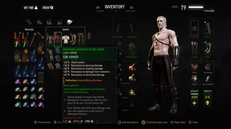 Equipment bug on the quest Master Armorers #TheWitcher3 #PS4 #WILDHUNT #PS4share #games #gaming #TheWitcher #TheWitcher3WildHunt