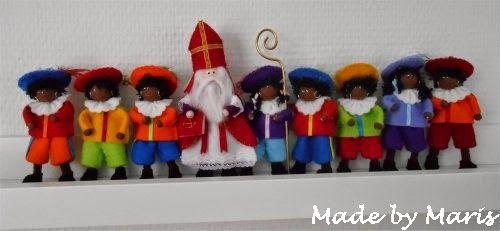 Made by Maris: -: Sinterklaas & 8 pietjes ::-