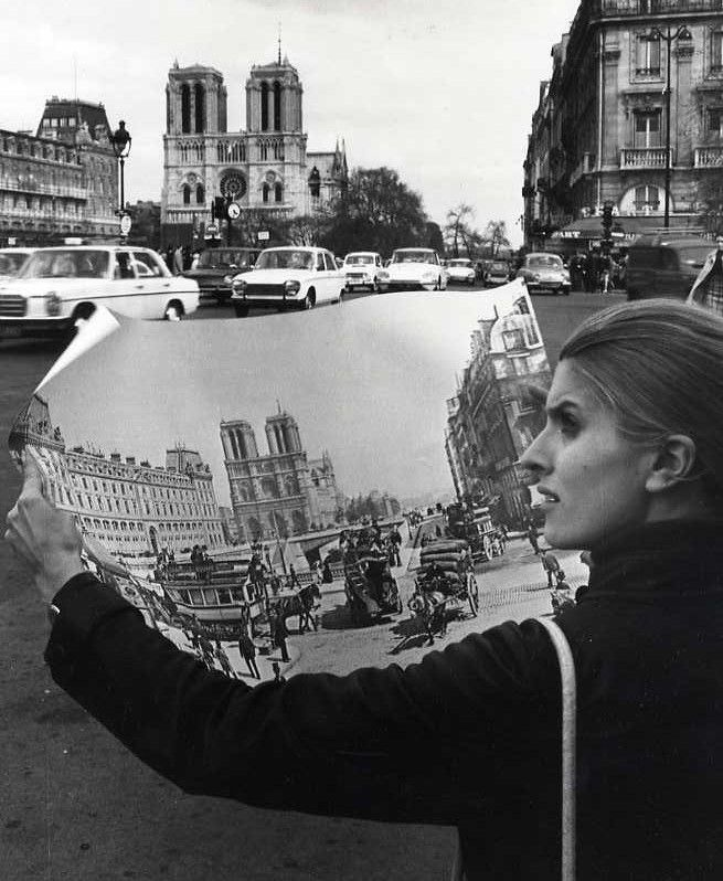 Notre Dame, Paris, 1977 by Robert Doisneau