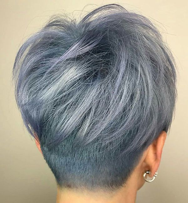 Top 20 Short Hairstyles Front And Back View 2020 In 2020 Short Hair Back View Thick Hair Styles Short Hair Back