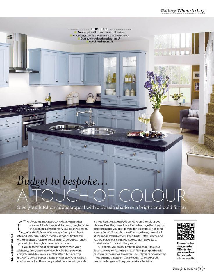 1000 ideas about blue grey kitchens on pinterest blue for French blue kitchen ideas