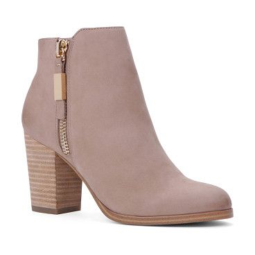 Mathia by ALDO. Make everyday outfit of the day count with the perfect bootie. You'll wonder how you ever got dressed in the morning without it: it makes everything just perfect. Gender: womens; Color: Beige; Category: Women > Clearance > Footwear > Boots #aldo #nudeshoes