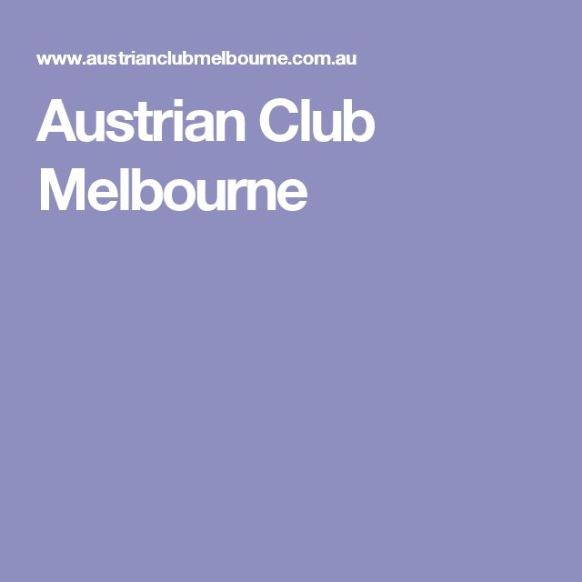 Austrian Club Melbourne