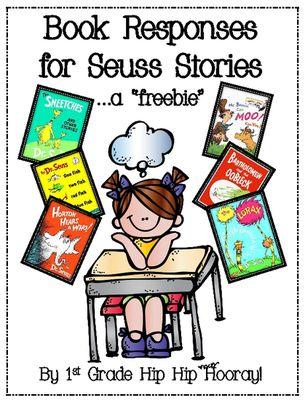 Dr. Seuss activities: FREE Book Responses for Seuss Stories.