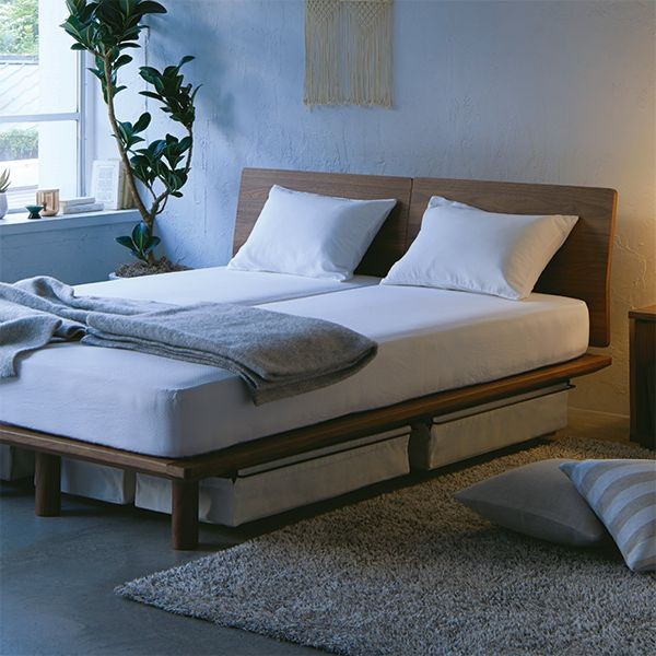 家具・インテリア・家電 ベッド ベッドルーム   無印良品