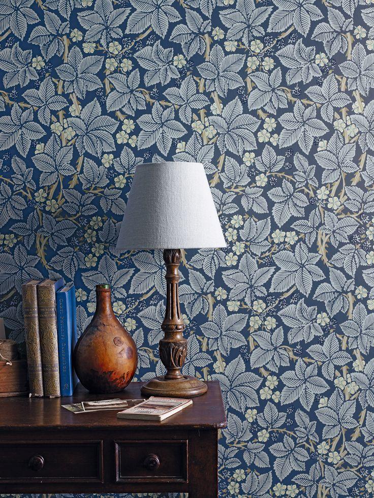 #Morris&co - papier peint Bramble - Morris&co - https://www.william-morris.co.uk