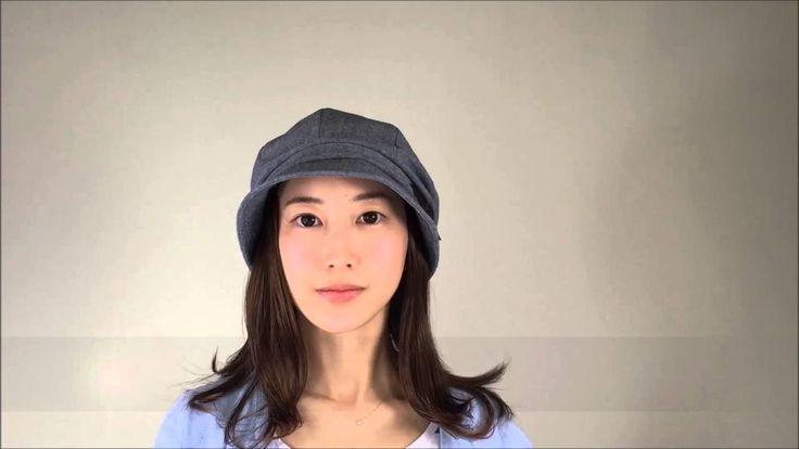 【髪の毛帽子WithWig】クリップヘアをとりつけた帽子のかぶり方