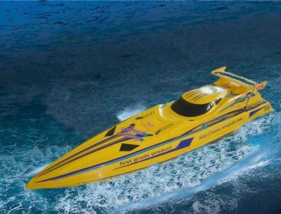 "37"" Speed X-Cyclone 1/16 RC Racing Boat R/C Radio Remote Controlled NQD Craft 