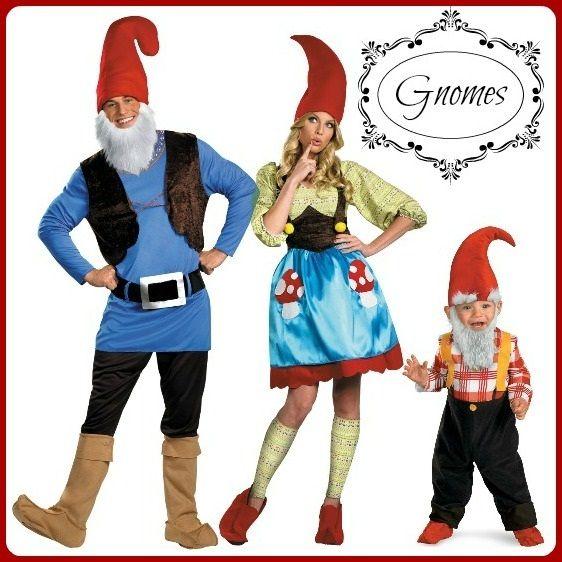 Family gnome costumes!
