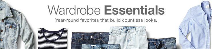 GAP Shop W's Wardrobe Essentials