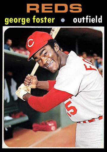 1971 Baseball Card Update 1971 Cincinnati Reds 4tht 79