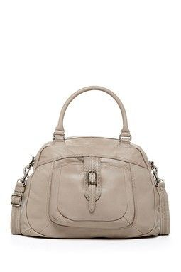 gray satchel