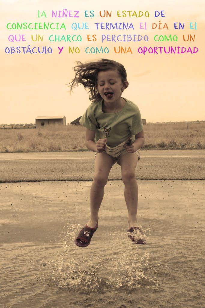 #Niñez....  Psicomold Psicólogos•Pioneros en Inteligencia Emocional www.psicomold.com Tel: 922 634 985