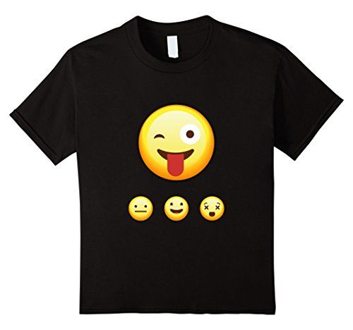 Kids Emoji 3 smal Face T-Shirt Haha Happy Smiley 10 Black... https://www.amazon.com/dp/B01M1RREW4/ref=cm_sw_r_pi_dp_x_8Ss5xb1GDS0JQ