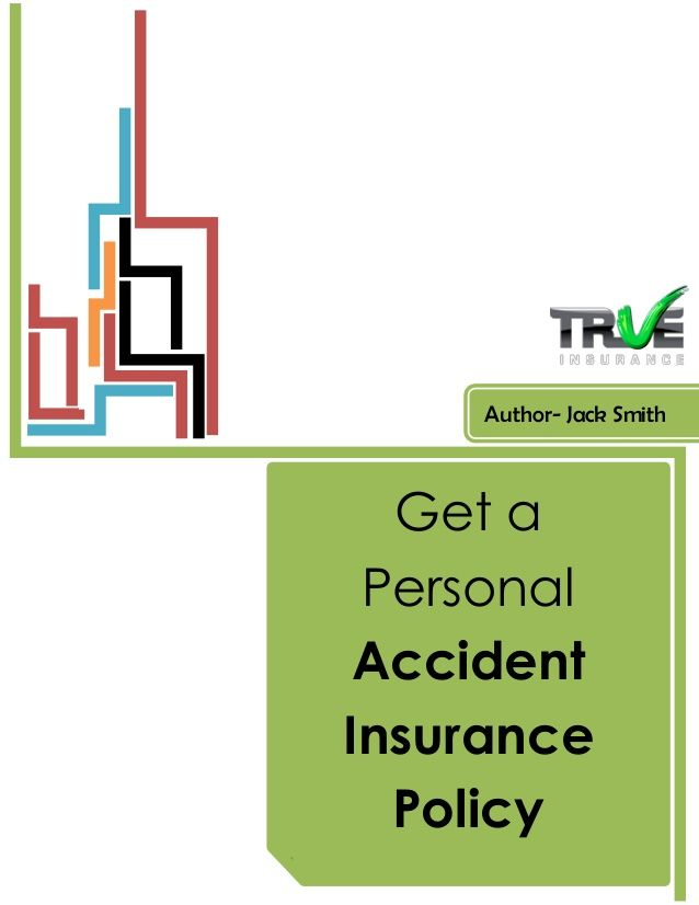 An Accident Insurance policy is very helpful for you, in case you get injured. Having a Personal Accident Insurance policy is a smart decision. Details- http://www.trueinsurance.com.au/accident-insurance/
