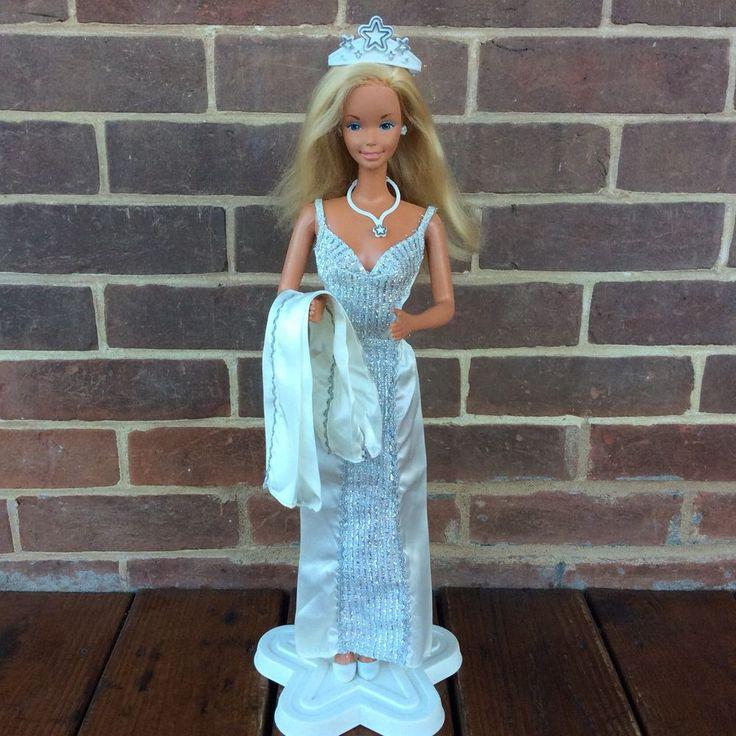 """Vintage Supersize 18"""" Barbie Doll Mattel 1976 9828 Glamorous Model Clothes Stand    eBay"""