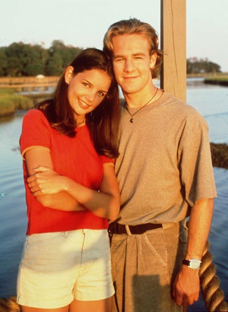 I was OBSESSED with Dawson's Creek!