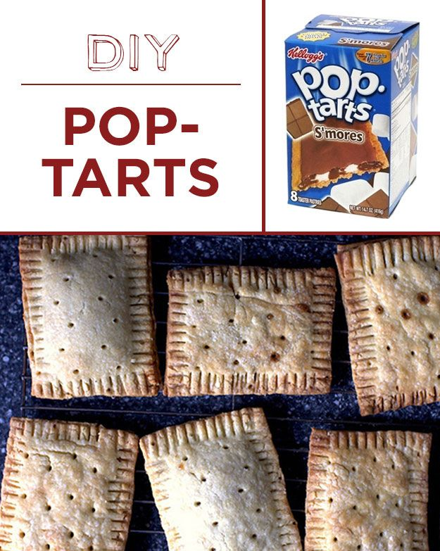 Homemade Pop-Tarts are chemical-free and infinitely customizable. | 30 Foods You'll Never Have To Buy Again