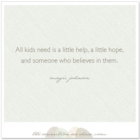 children parenting quote kids need