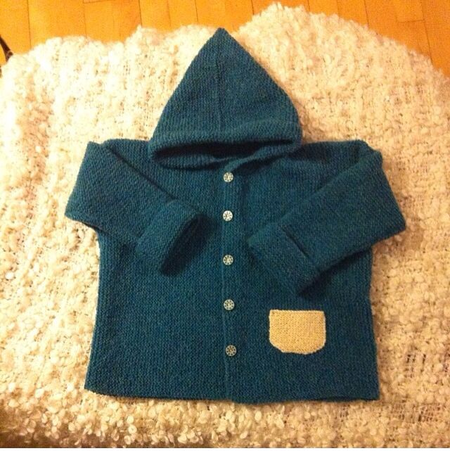Hættetrøje, All you knit is love, Susie Haumann