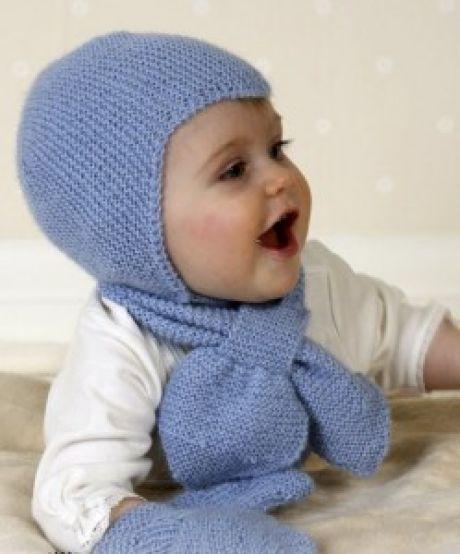 Вязаные шапочки для малышей (модели с описанием) | Вязание спицами, крючком, уроки вязания