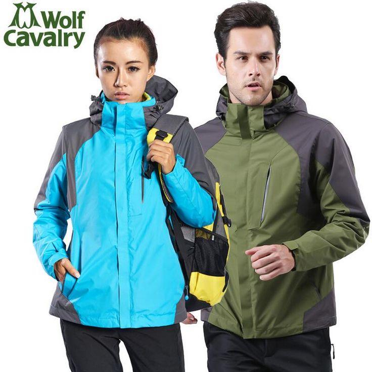 Warm breathable windproof waterproof jacket men windbreaker Winter sports jackets for women camping hunting hiking jackets Coat